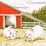From the book On The Farm, illustrated by Linda Walker