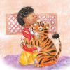 "From the poem ""A Tiger in my Tree"" in the book Baby Time Rhymes."